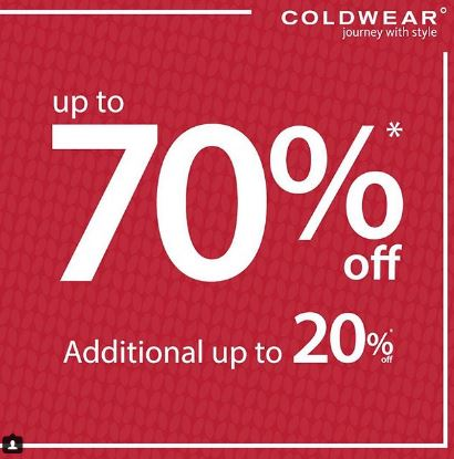 Get Discount Up to 70% from Coldwear