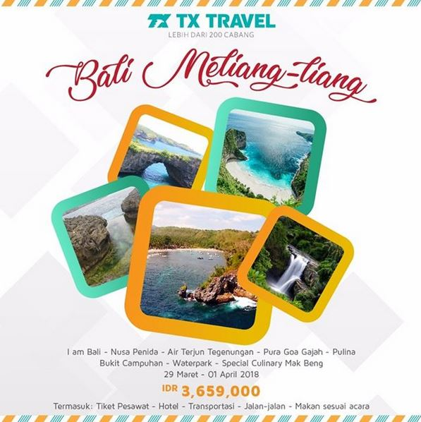 Holiday to Bali Package from TX Travel