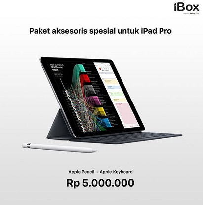 Accessories Package IPad Pro Promo At IBox