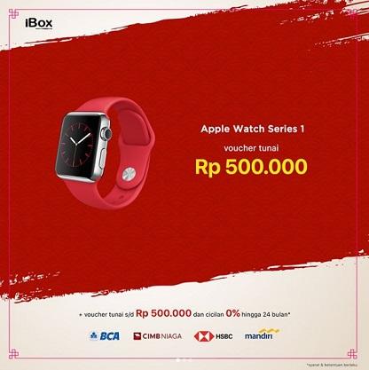 Cash Voucher Rp 500000 Apple Watch Series 1 At IBox
