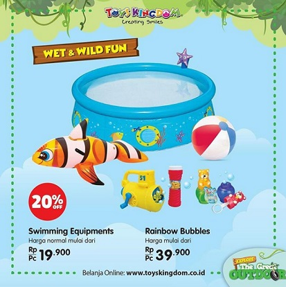 Discount 20% Promo from Toys Kingdom