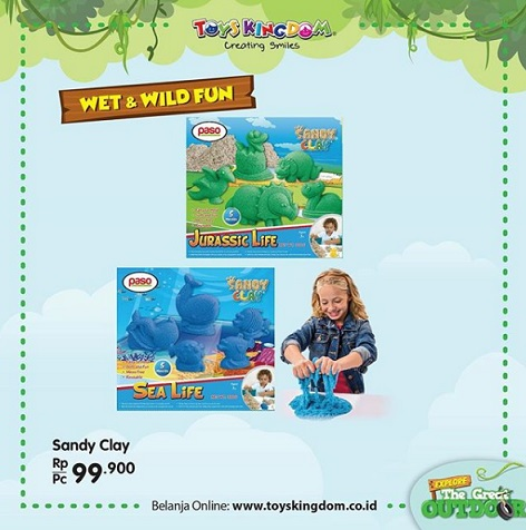 Special Price Rp 99,000 Sandy Clay at Toys Kingdom