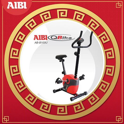 Static Bicycle Promotion at AIBI
