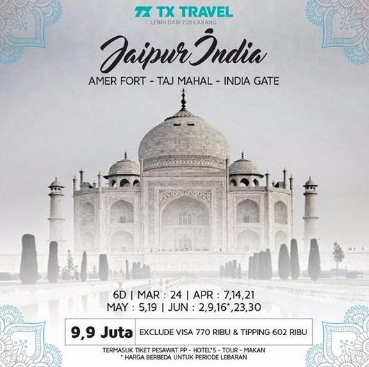 Jaipur India Package Promotio at TX Travel
