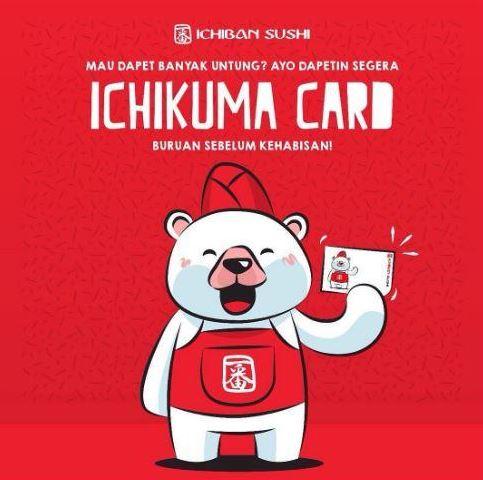 Ichikuma Card at Ichiban Sushi