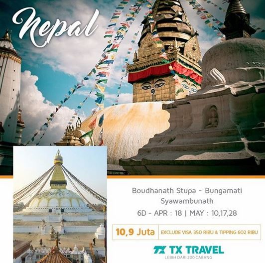 Tour to Nepal Promotion from TX Travel