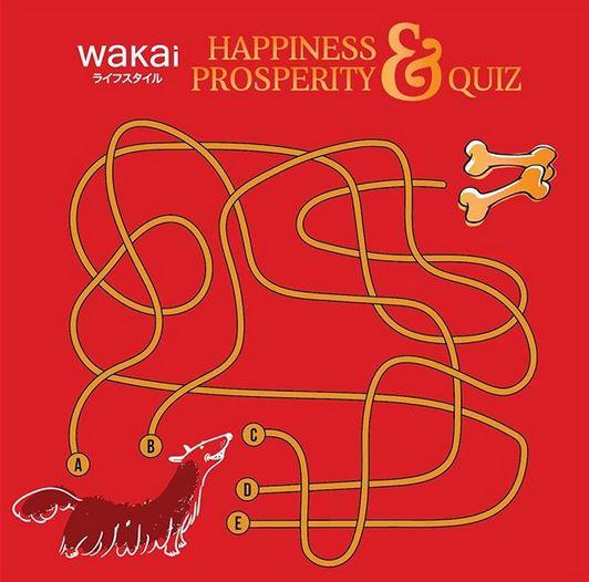 Wakai Happiness & Prosperity Quiz