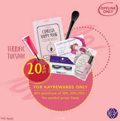 Discount 20% Promo from Kay Collection