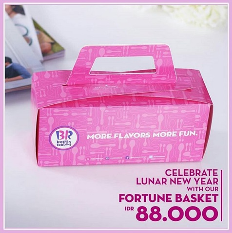Fortune Basket Special Price Rp 88,000 from Baskin Robbins</h3>