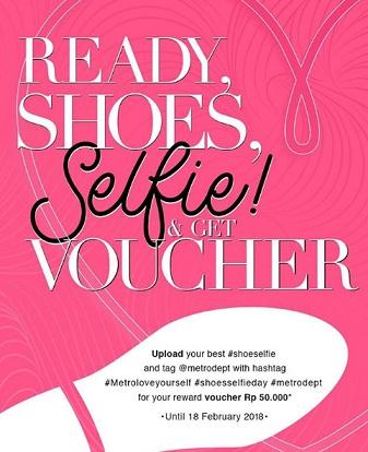 Get Voucher Rp 50,000 from METRO Dept Store