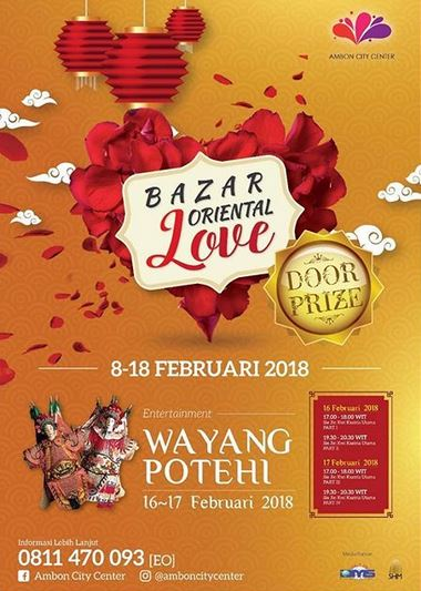 Bazar Oriental Love at Ambon City Centre