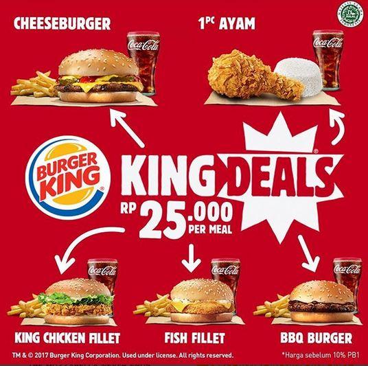 King Deal Promo at Burger King