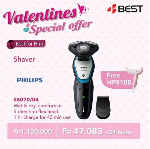 Get Free Philips Hairdryer from Best Denki</h3>
