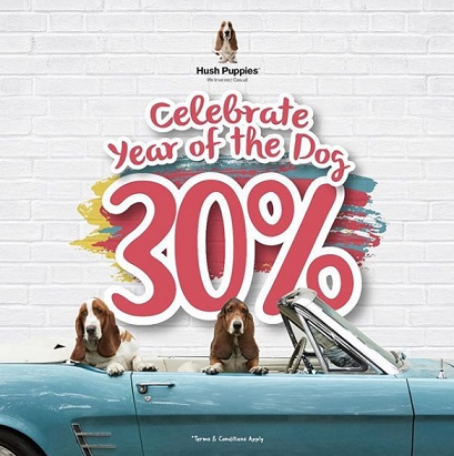 Discount 30% Promo from Hush Puppies</h3>