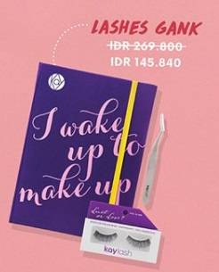 Special Price Lashes Gank Promo at Kay Collection