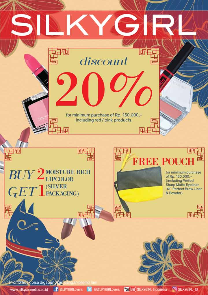 Discount 20% & Buy 2 Get 1 Free from Silky Girl