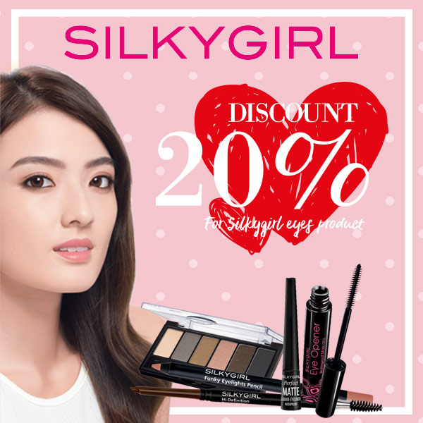 Eyes Product 20% off at Silky Girl