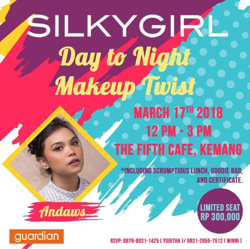 Day To Night Makeup Twist from Silky Girls