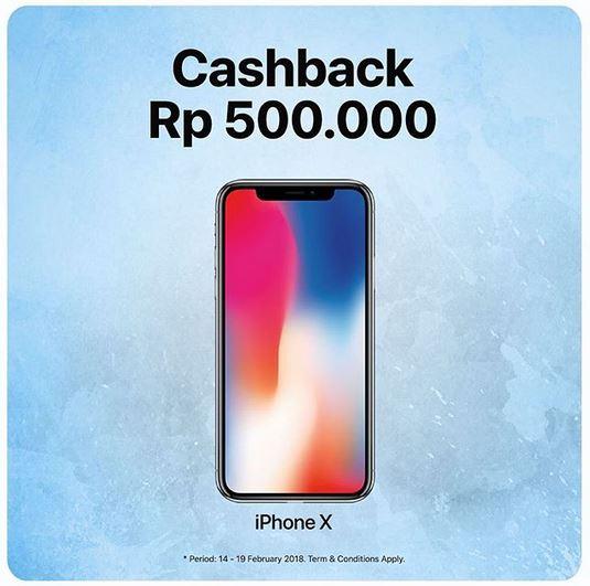 Cashback Rp 500.000 at Global Teleshop