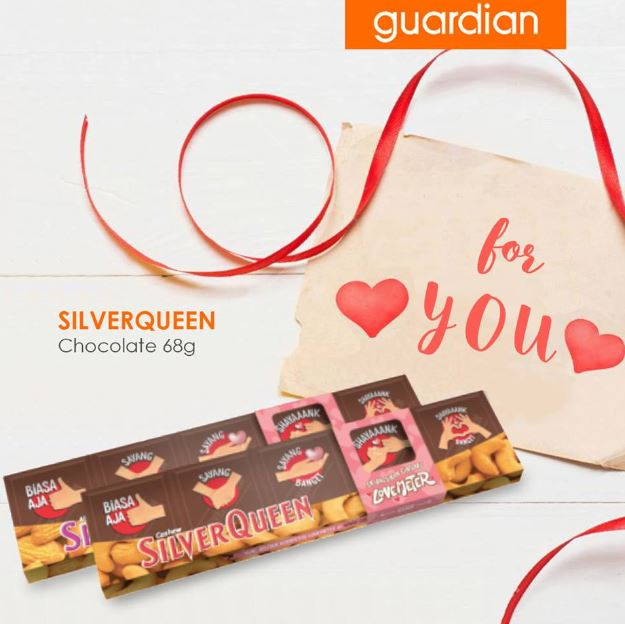 Promo Silverqueen at Guardian
