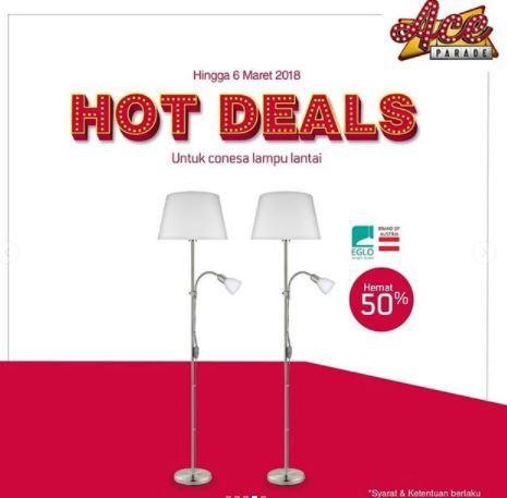 50% Discount Floor Lamp Conesa at Ace Hardware