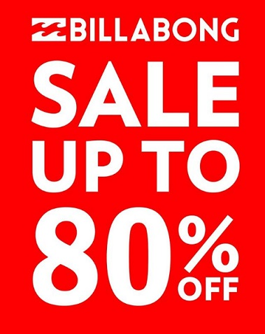 Billabong Discount Up to 50% at Ray Surf