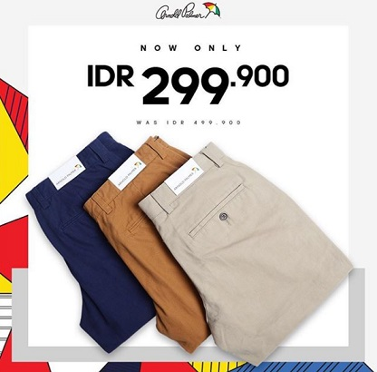 Special Price Rp 299,900 Arnold Parmer at METRO Dept Store