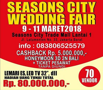 Wedding Fair at Season City