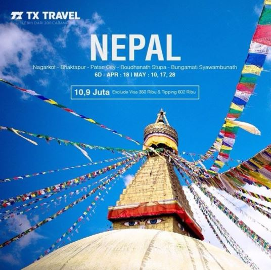 Tour Nepal Package at TX Travel