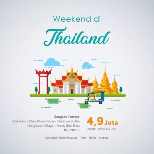 Tour Thailand Promotion at TX Travel