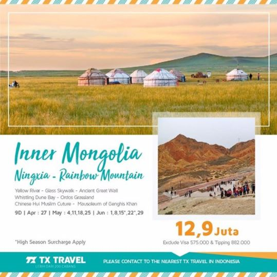 Tour Mongolia Package at TX Travel