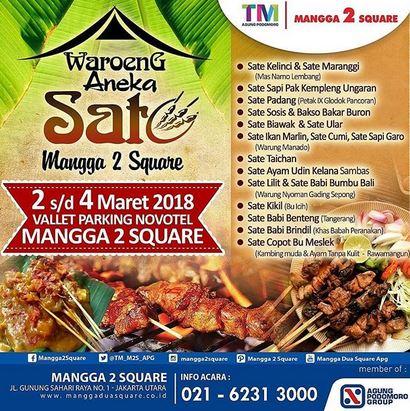 Waroeng Aneka Sate at Mangga 2 Square