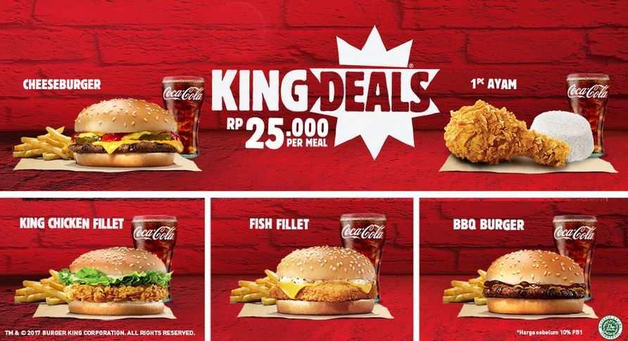 Special Price Rp 25.000 at Burger King