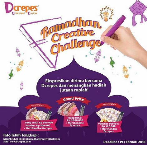Ramadhan Creative Challenge at D'Crepes
