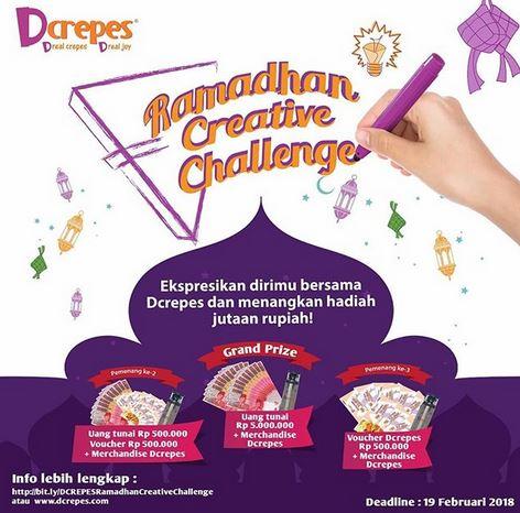 Ramadhan Creative Challenge at D'Crepes
