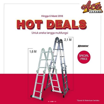 Special Price Multifunction Stairs Promo at Ace Hardware