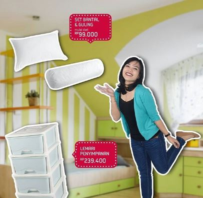 Get Special Price Set Bantal Guling at Ace Hardware