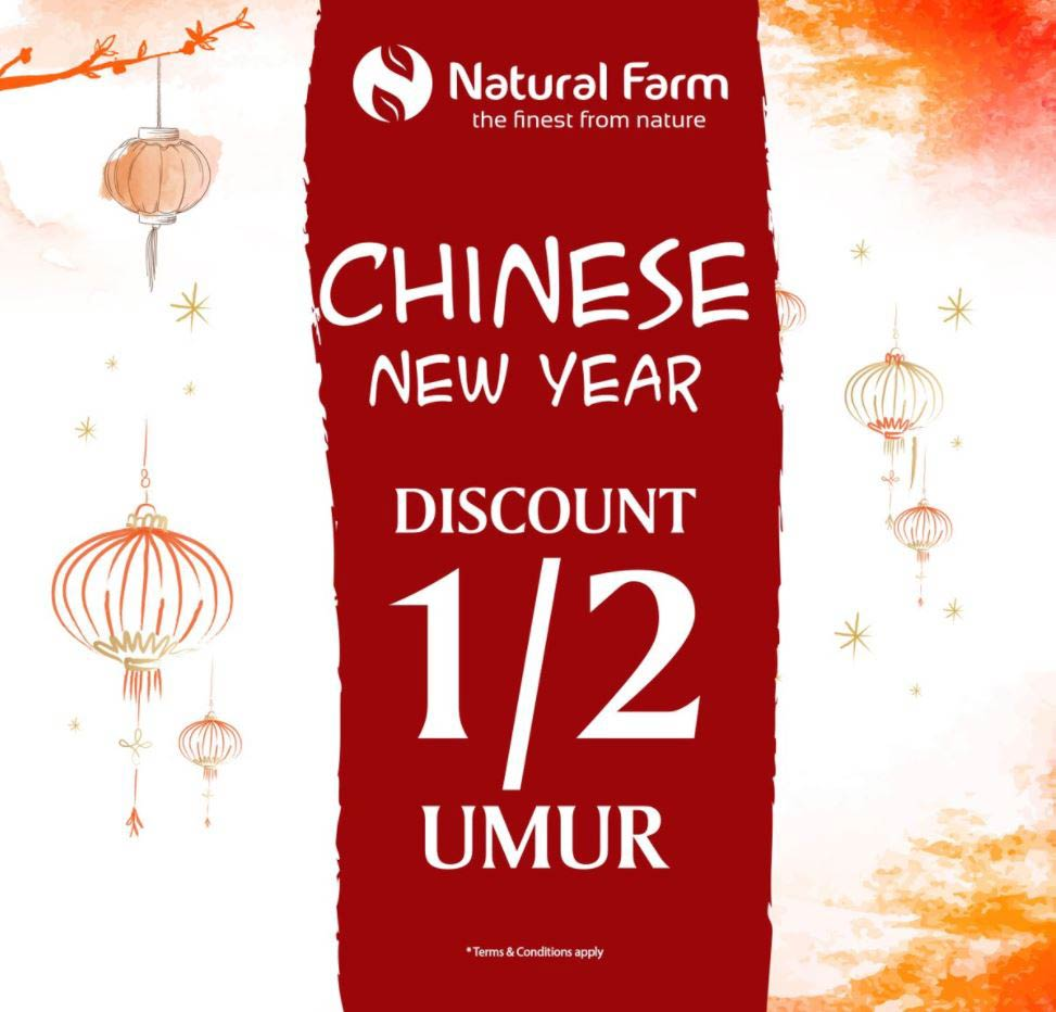 Discount 1/2 of Your Age from Natural Farm