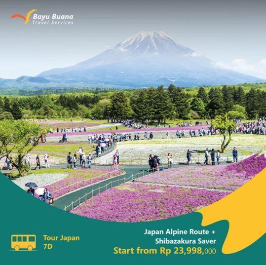 Tour Jepang Packagae at Bayu Buana Travel