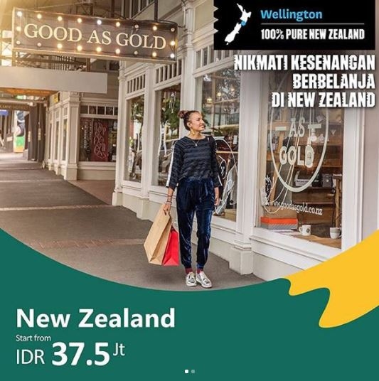 Tour New Zealand Package at Bayu Buana Travel