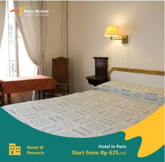 Promo Hotel at Paris from Bayu Buana Travel