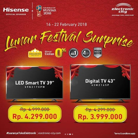 Promo Lunar Festival Surprise at Electronic City
