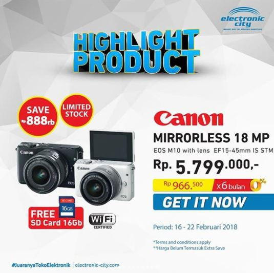 Camera Promotion at Electronic City