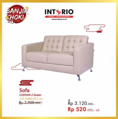 Promo Special Price Sofa Caspian-2Seater from Interio
