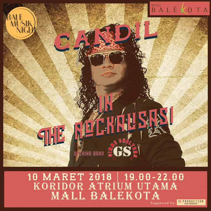 Candil In The Rockalisasi at Bale Kota Mall