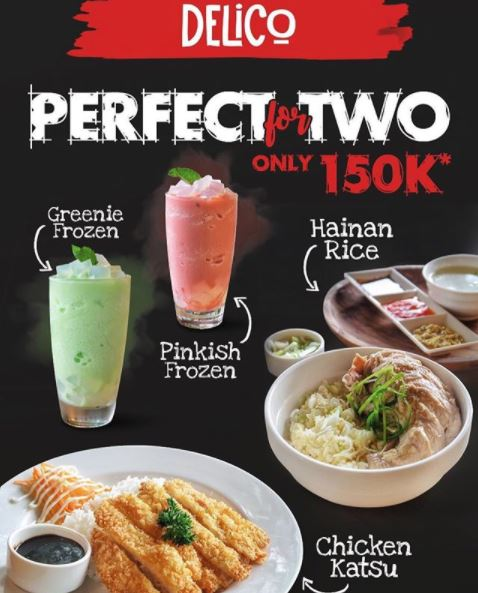 Perfect for Two Only 150K from Delico Café