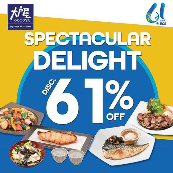 Discount 61% from Ootoya