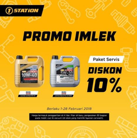 Promo of Imlek Special Service Package at 1Station