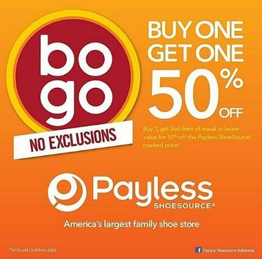 Discount 50% Promo from Payless