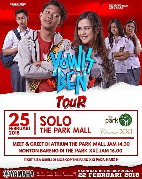 Meet & Greet Yowis Ben at The Park Solo